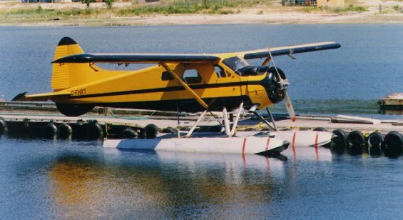 de Havilland DHC-2 Beaver at Sechelt, BC.