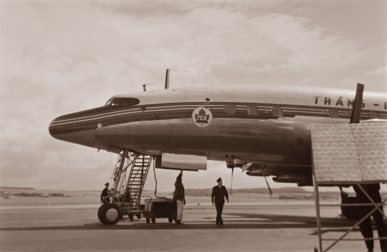 Lockheed L-1049G Super Constellation история авиации